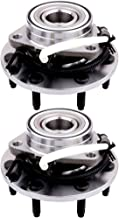 ECCPP Replacement for Wheel Bearing Hub 515030 X2 Hub Bearing Assembly Hub Assemblies Frony Axle 7 Lugs W/ABS Sensor for Ford F-150 2000-2003 4WD, Ford F-250 1997-1999 4WD