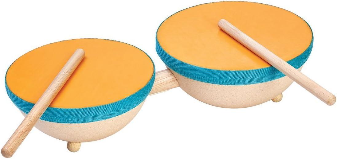 PlanToys 6425 Double Drum Music Set : Toys & Games