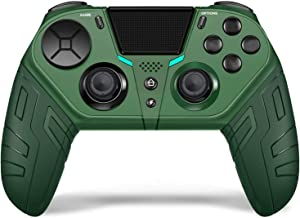 $46 » Allgreen Wireless Game Controller Joystick for PlayStation4 / PC, Bluetooth Wireless Gamepad Joystick with Charging Cable ...