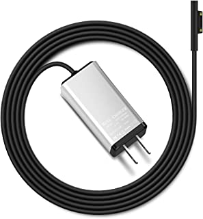 Ouweike Microsoft Surface Portable Mini Charger for Surface Pro 3 Pro 4 Pro 5 Pro 6 Surface Book & Surface Go, 65W 15V 4A Power Supply Adapter with 6.56ft Power Cord