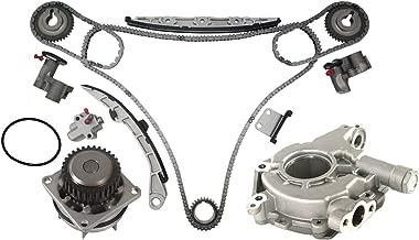 MOCA Timing Chain Kit w/Water Pump & Oil Pump for 2003-2005 Infiniti FX35 G35 & 2002-2007 Nissan Altima Maxima 350Z 3.5L V6 24V VQ35DE Engine