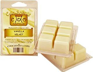 3 Pack of Coo Candles Soy Wickless Candle Bar Wax Melts - Vanilla Velvet (3)