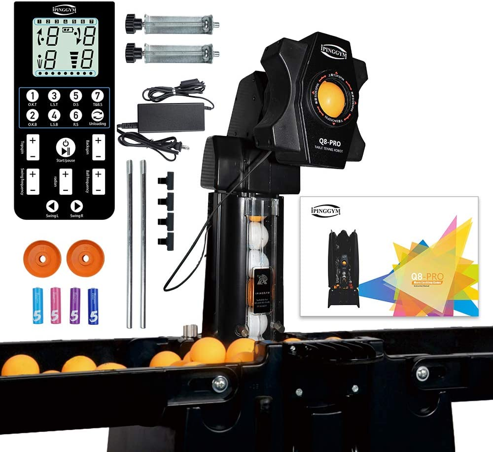 Shikha Table Tennis Ball Machine Practice Cat Recycle Robot 5% OFF with Inexpensive
