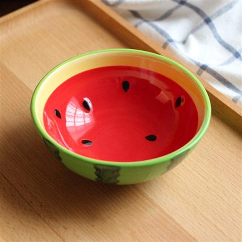 Cereal bowl set Creative Fruit Bowl Ta Single Porcelain Daily bargain sale Adult Of Ranking TOP19