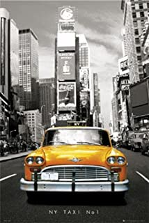 New York City Times Square - NY Taxi No 1 Huge Poster