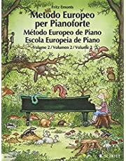 VOL. 2º METODO EUROPEO DE PIANO SCHOTT: German/French/English/Spanish