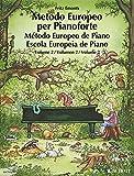 European piano method. Per la Scuola media: METODO EUROPEO PER PIANOFORTE VOLUMEN 2: German/French/English/Spanish