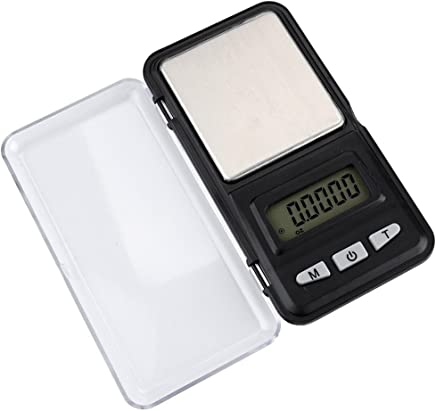 FY Home Precision Digital Scales Mini Portable 200g x 0.01g Digital Scale Jewelry Gold Herb Balance Weight Gram LCD (A)
