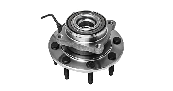 , GMC Chevrolet Front Wheel Hub Bearing Assembly for Hummer H2 Silverado 515058 1500//2500//3500 Series 4WD Models ONLY Sierra 1-Pack 1500//2500//3500 Series Yukon XL 2500 Avalanche 2500