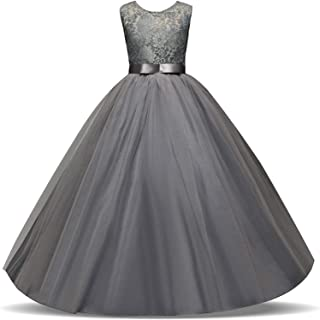 Surprise S Lace Girl Dress for Wedding Girl Party Wear Plus Size Little Lady Evening Prom Gown Teenage Girl Kid Clothes