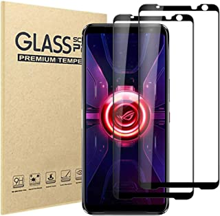 Hileny Screen Protector for ASUS Rog 3 Tempered Glass, Easy Bubble-Free Installation, 9H Hardness, 99.99% HD Clarity Tempe...