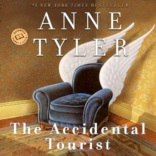 The Accidental Tourist audiobook cover art