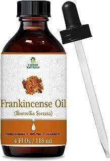 Vaidehi Naturals Frankincense Essential Oil Pure 4 OzBoswellia Serrata Oil for Face Cream, Skin Care, Body Oil, Shampoo, ...