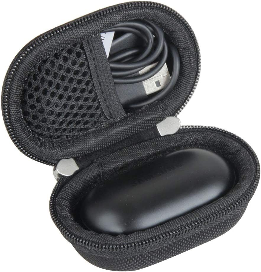 Hermitshell Travel Case for Samsung Galaxy Buds/Galaxy Buds+ Plus Bluetooth True Wireless Earbuds (Black)