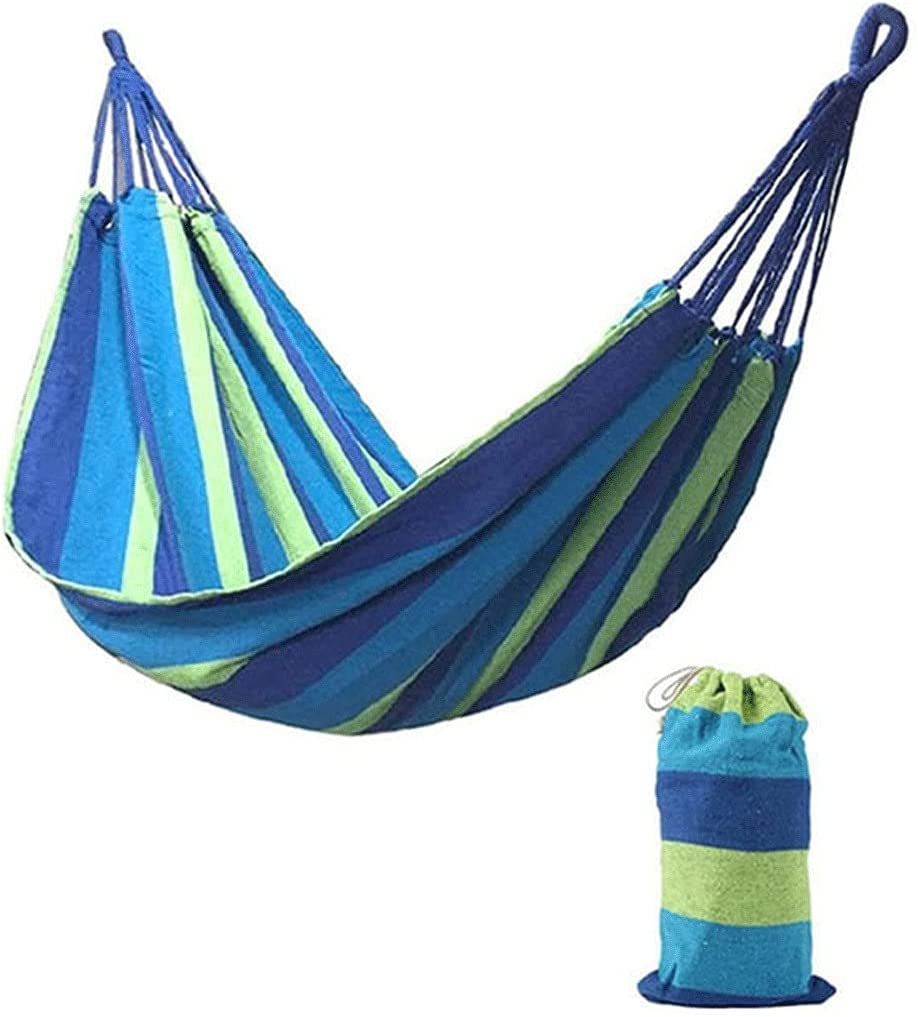 QSWL Garden Hammock New mail order for Double wit Cotton Outdoor High material
