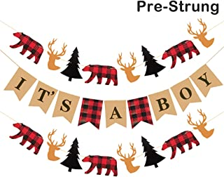 Best moose and bear baby shower decorations Reviews