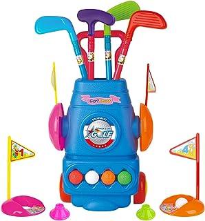 Meland Kids Golf Club Set – Toddler Golf Ball Game Play Set Sports Toys Gift for..
