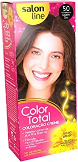 Tintura Permanente 5 Castanho Claro Unit, Color Total