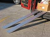 Rampa di carico dritta - Portata max. 700kg - Larghezza 200mm...