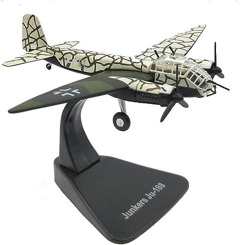EP-model Flugzeugmodell, Weltkrieg Waffe deutsche JU-188 Bomber fertige Produkt Simulationsmodell, Retro milit sche Dekoration Non-Souvenir Souvenir