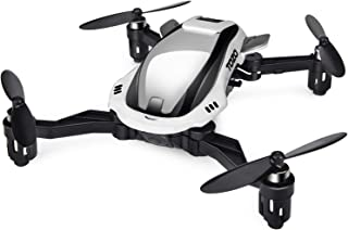 TOZO Q4040 Drone RC Quadcopter Foldable Mini Altitude Hold Headless RTF 360 Degree Flips & Rolls 6-Axis Gyro 4CH 2.4Ghz Remote Control Helicopter Height Hold Steady Easy Fly for Training. White