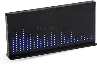Nobsound 14x24 Music Spectrum Audio Spectrum Sound Level LED Level Meter Display Analyzer for HiFi (Black)