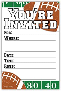 Best football ticket party invitations Reviews