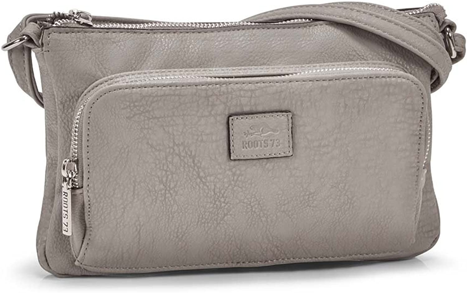Roots73 Grey East west Crossbody