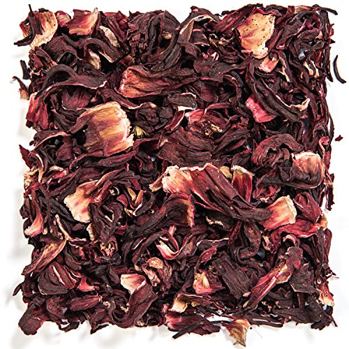 Tealyra - Pure Hibiscus Herbal Tea - Loose Leaf Tea - Lower Blood Pressure & Help Weight Loss - Vitamins Rich Tea - Healthy Tea - Caffeine Free - 200g