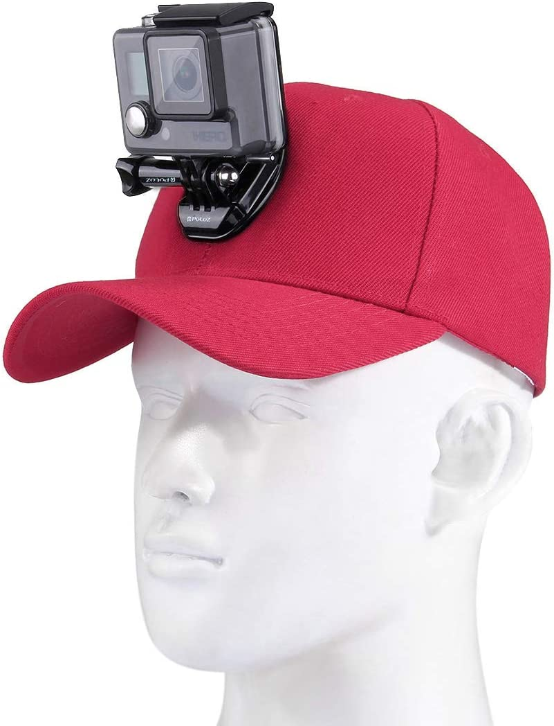 Action Max 74% OFF Cameras Hat with Quick favorite Mount Compatible Release wi Buckle