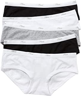 Hanes Women's Underwear Cotton Blend Boyleg Brief (5 Pack)