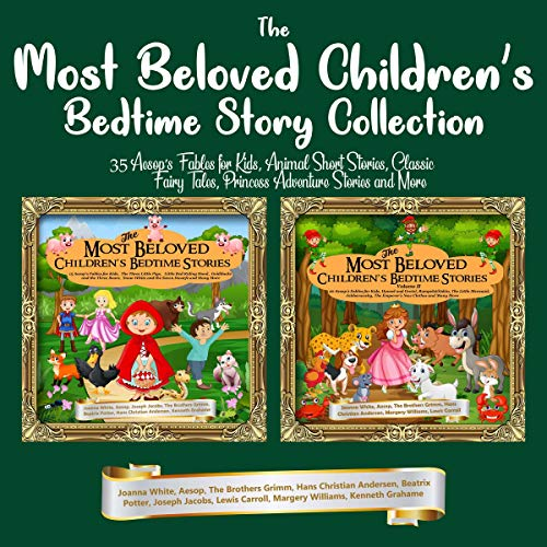 『The Most Beloved Children's Bedtime Story Collection』のカバーアート