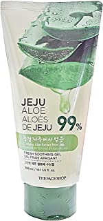 [The Face Shop] Fresh Jeju Aloe Soothing Gel Tube