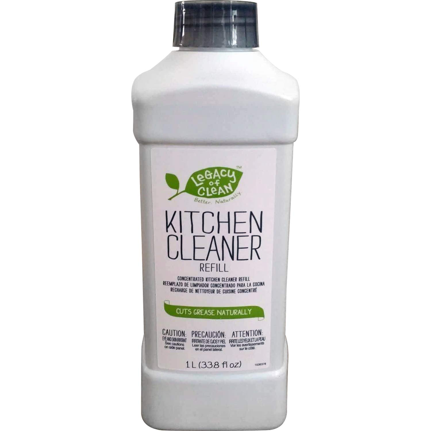 Legacy of Clean Ultra-Concentrated All Purpose Kitchen Cleaner Refill (33.8 Fl. Oz Makes 4 or More Refill Bottles)