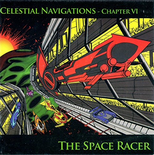 Space Racer audiobook cover art