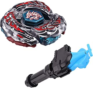 LANZBAO Best L-Drago Destructor (Destroy) F:S Metal 4D High Performance Generic Battling Top BB-108(BB108) Toys and Bey Ruler String Launcher and Launcher Grip(Blue) Gift Toys for Children