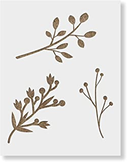 Tree Branches Stencil Template - Reusable Stencil with Multiple Sizes Available