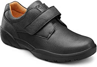 Men's William-X Double Depth Black Diabetic Casual Shoes