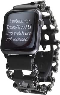 BestTechTool watch adapter compatible with LEATHERMAN TREAD - BTT adapter (compatible with Apple watch 44mm/ 42mm, BLACK, TREAD)