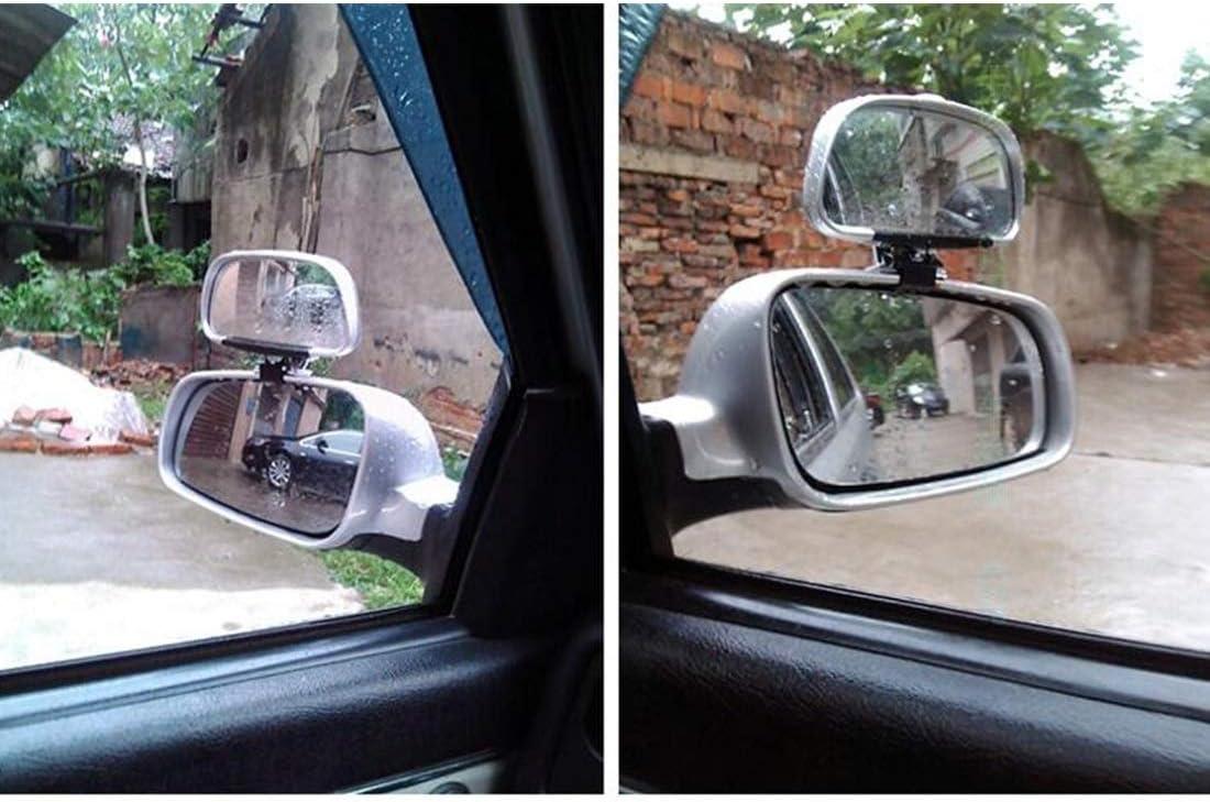 R/étroviseur miroir tache aveugle Noir 081 Car Blind Spot Vue lat/érale Grand Angle Miroir Vision Collection Convex Vue lat/érale Miroir Blind Spot Miroir Color : Black