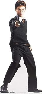 Figura de Harry Potter de Harry Potter (160 cm de alto, diseño de estrellas de la Escuela de brujería y uniforme de magia ...