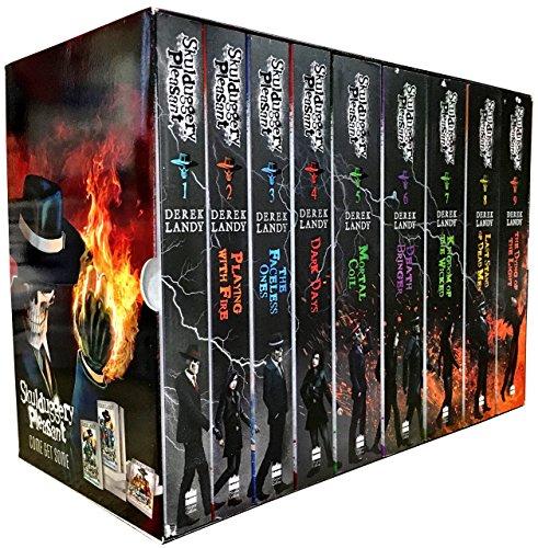 Skulduggery Pleasant Series 1 To 3 Collection By Derek Landy 9 Books Set