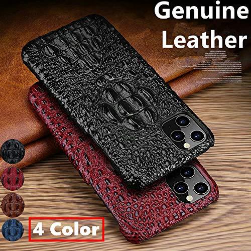 fundas iphone 11 max piel de cocodrilo fabricante AnMengXinLing