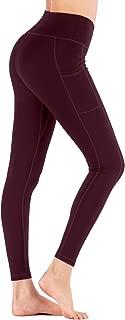 Aro Lora Women Yoga Legging - High Waiste Side Pockets Workout Running Pants