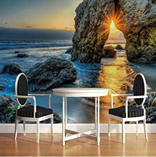 3D Photo Wallpaper Sea Sunset Landscape Oil Painting Living Room Bedroom Waterproof Canvas Mural Wall Papers Home Decor-35...