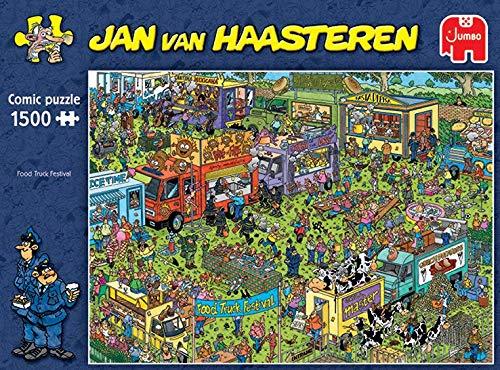 Jumbo 20042 Jan Van Haasteren Food Truck Festival - Puzzle de 1500 piezas