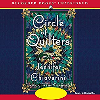 Circle of Quilters audiobook cover art