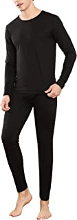 YIMANIE Men's Thermal Underwear Set Long Johns Ultra Soft Top and Bottom