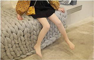 YUNGYE, YUNGYE Verano y otoño Nuevo sólido Color de la Malla Fina Coreana niñas Panti elástico Niños Niños Medias Medias niña (Color : Beige, Size : 4 6T)