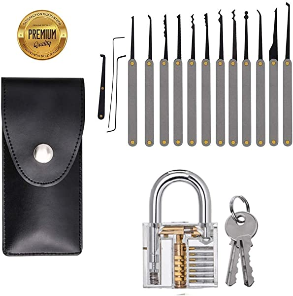 Marvelous Stainless Steel Multitool 15Pcs Lock Included